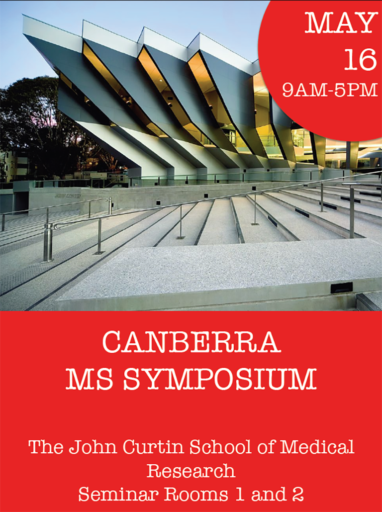 Canberra MS Symposium brochure